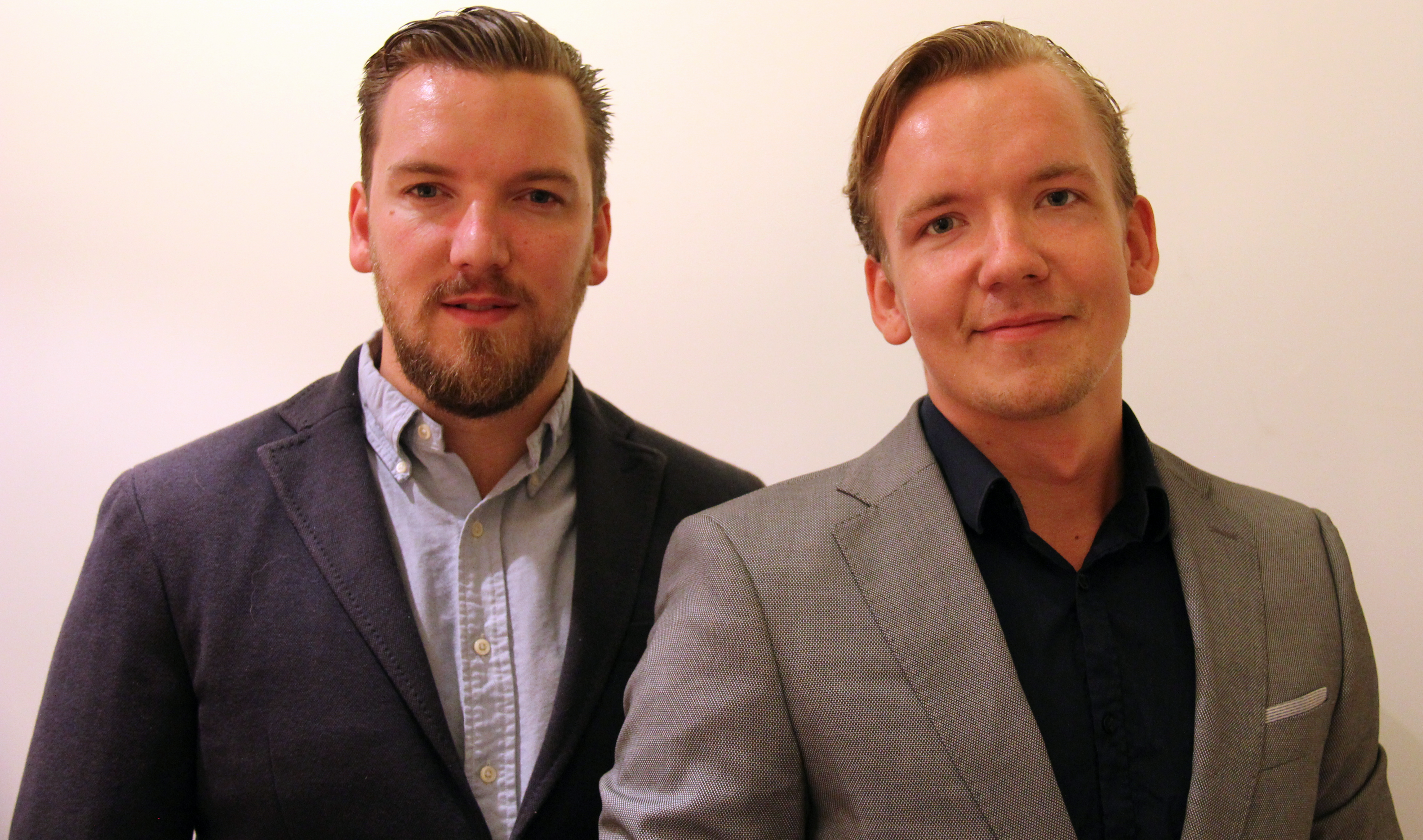 Jesper Ribacka och Jens Ribacka