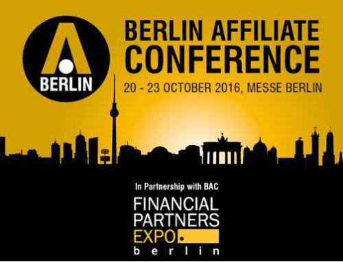 Berlin Affiliate Conference 2016